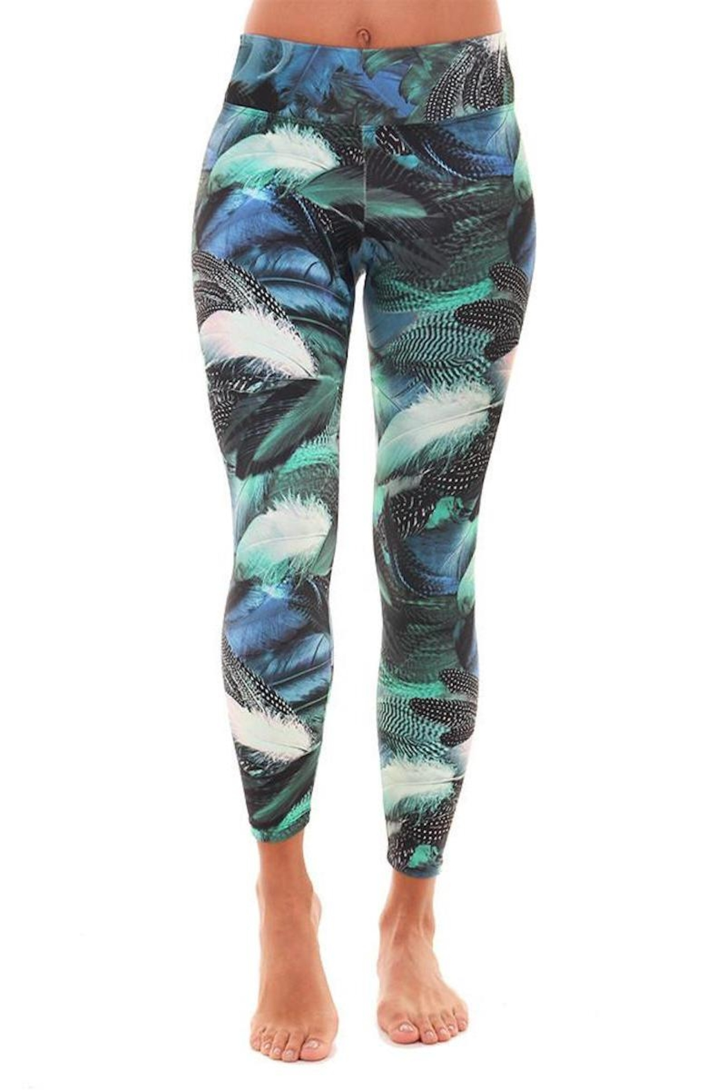 Liquido Active Goose Feathers Legging - Front Cropped Image