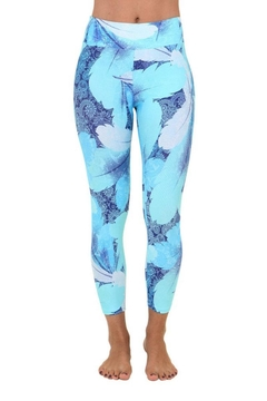 Liquido Active Ocean Leaves Legging - Product List Image