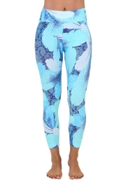 Liquido Active Ocean Leaves Legging - Product Mini Image