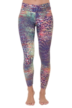 Liquido Active Tanzy Patterned Legging - Product List Image