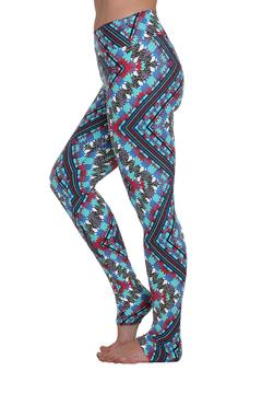 Liquido Active Tribe Print Legging - Product List Image