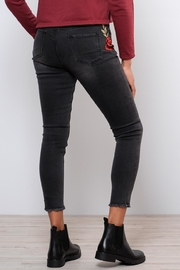 Lira Embroidered Jeans - Side cropped