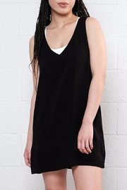 Lira Black Flowy Sleeveless Dress - Product Mini Image