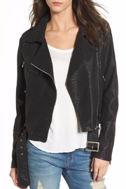 Lira Vegan Leather Jacket - Product Mini Image