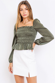 Le Lis LIS - JULIETTE TOP - Front cropped