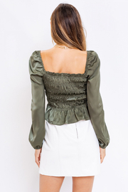Le Lis LIS - JULIETTE TOP - Back cropped