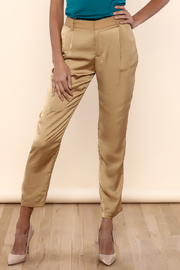 Lisa & Lucy Biscuit Trouser Pants - Product Mini Image