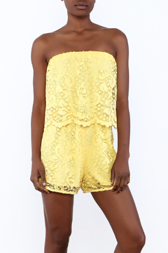 Shoptiques Product: Canary Popover Romper