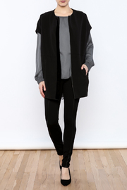 Lisa & Lucy Drop Shoulder Jacket - Front full body