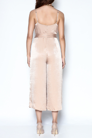 Lisa & Lucy Golden Jumpsuit - Back cropped