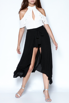 Shoptiques Product: Hanky Hem Wrap Shorts