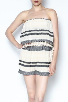 Lisa & Lucy Strapless Popover Romper - Product List Image