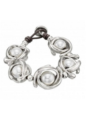 Uno de 50 Lisa in the sky Pearl Bracelet - Product Mini Image