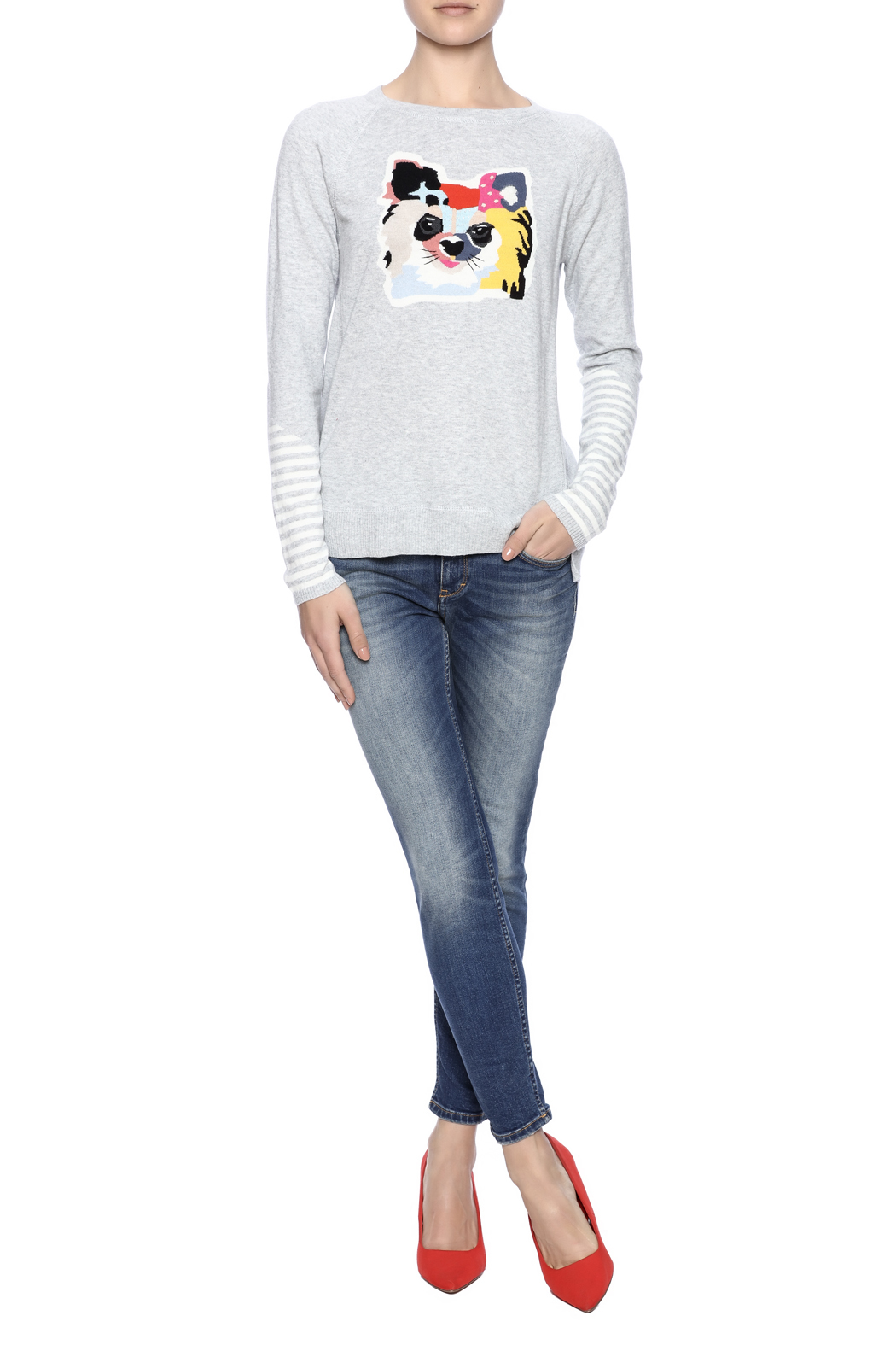 Lisa Todd Cat Sweater - Front Full Image