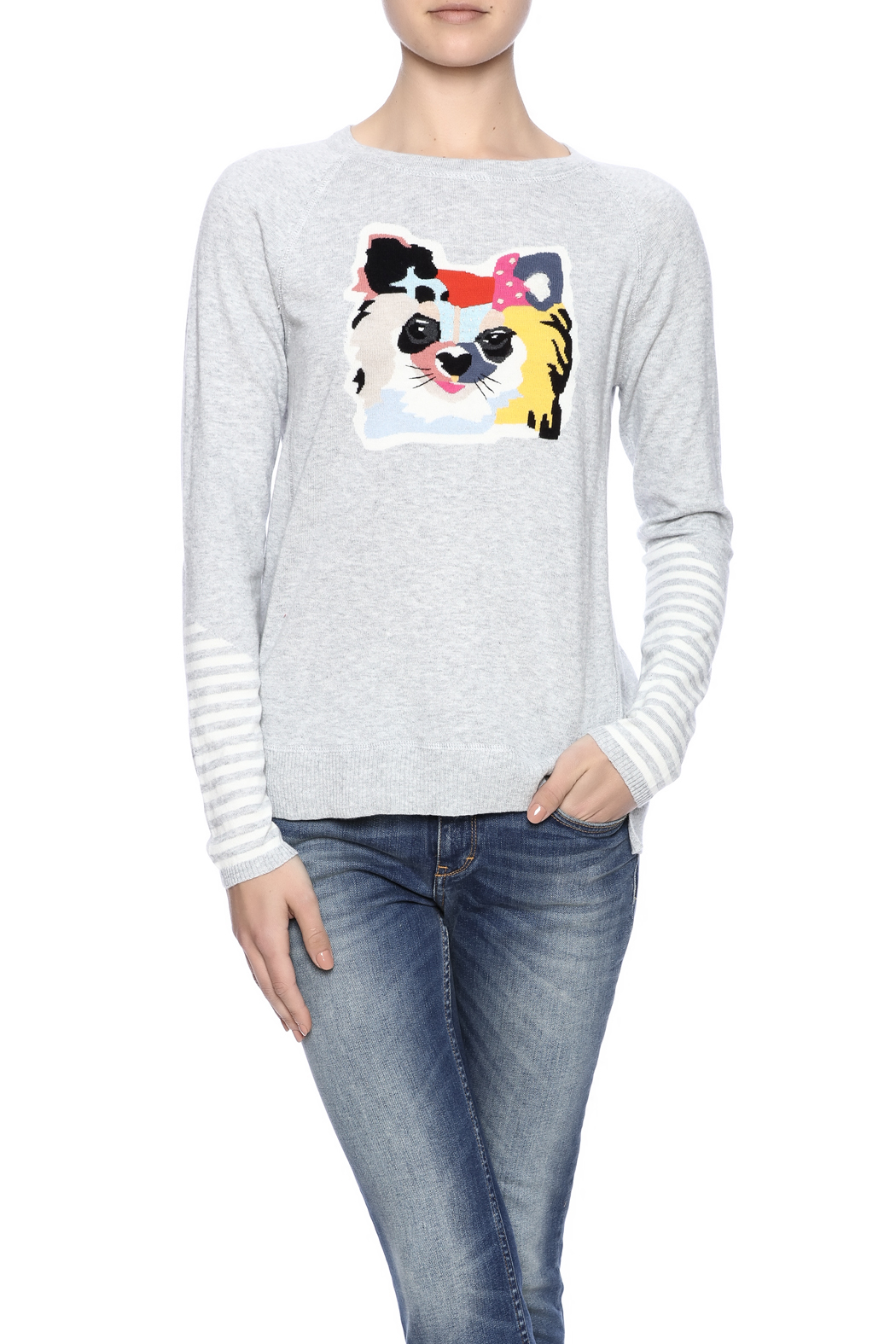 Lisa Todd Cat Sweater - Front Cropped Image