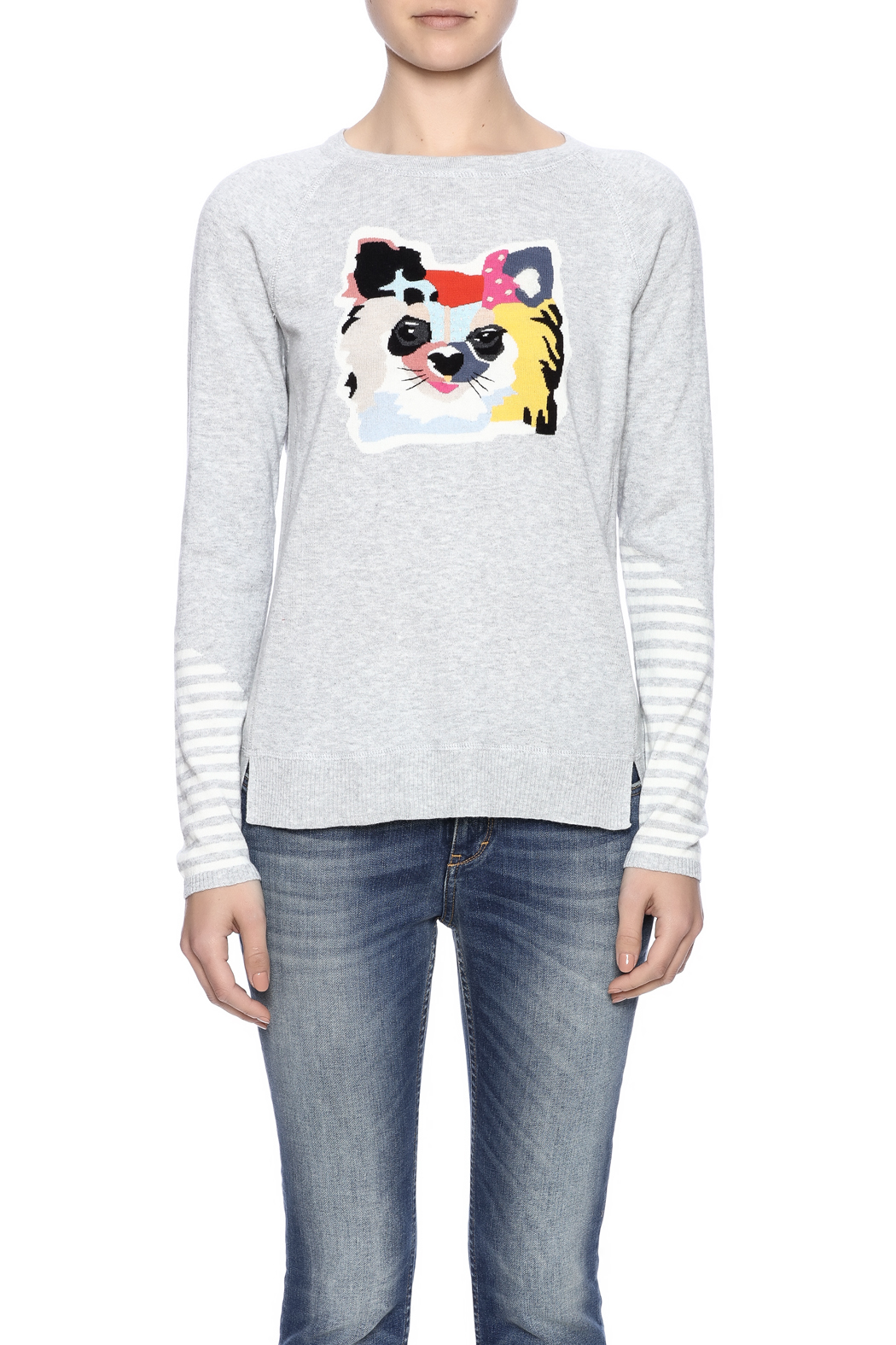 Lisa Todd Cat Sweater - Side Cropped Image