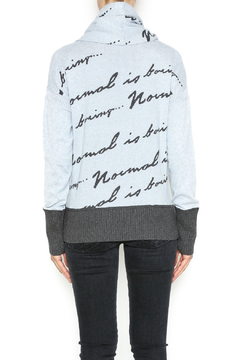 Lisa Todd Normal Is Boring Sweater - Alternate List Image