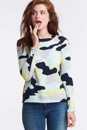 Lisa Todd Camo Lightweight Sweater - Product Mini Image