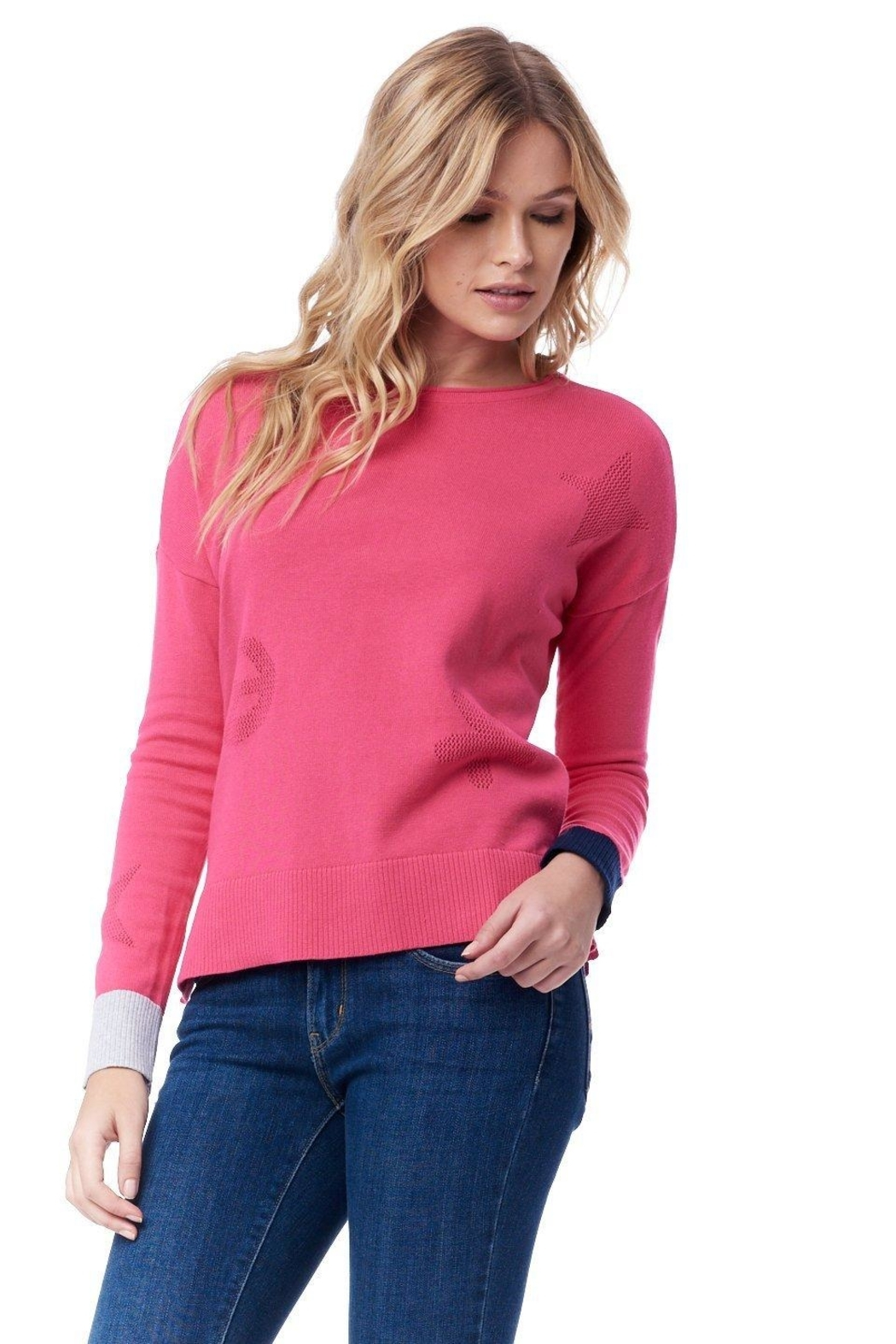 Lisa Todd Good Vibrations Sweater - Front Cropped Image