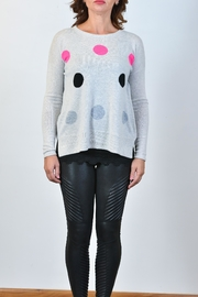 Lisa Todd Hot Spots Cashmere Sweater - Product Mini Image
