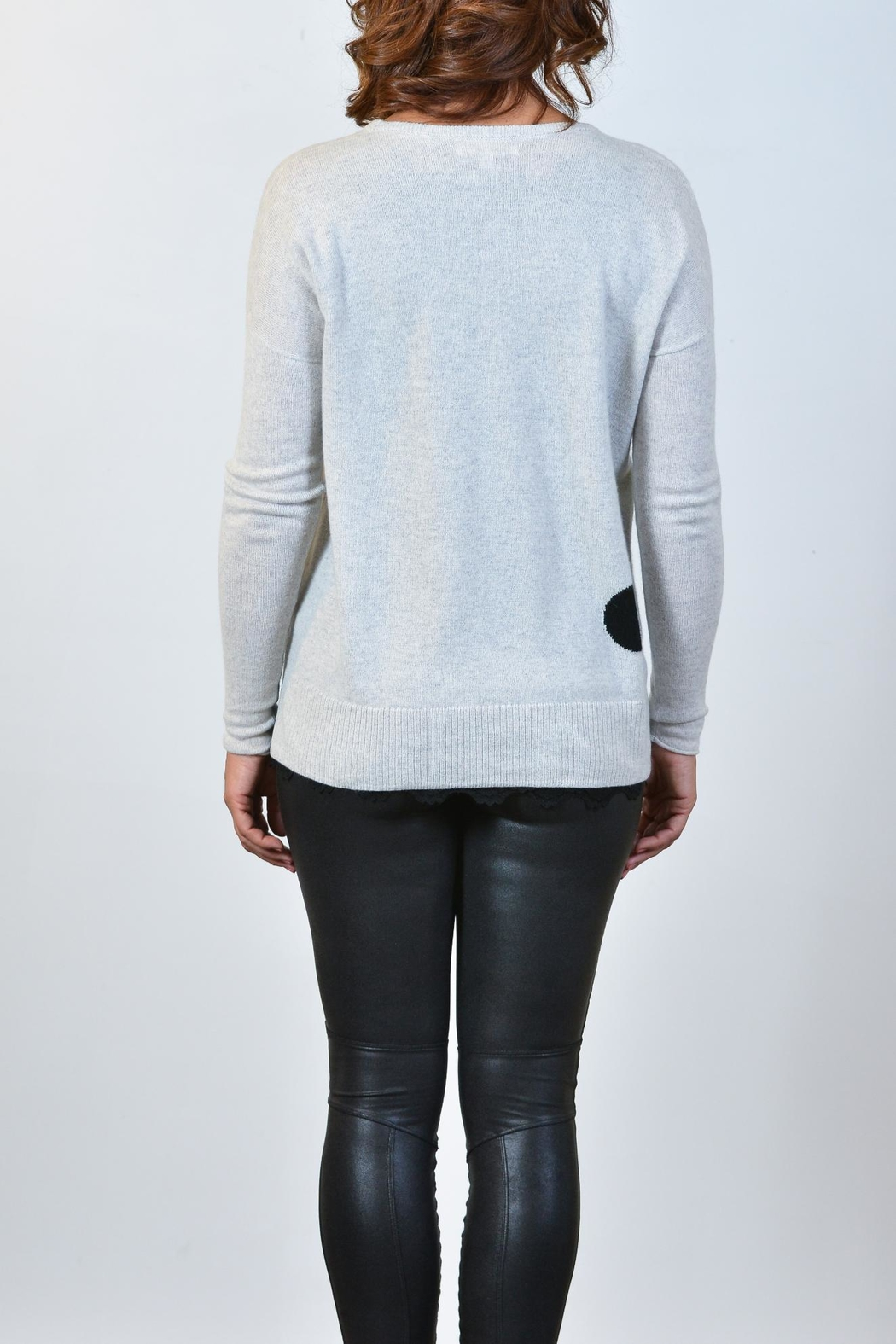 Lisa Todd Hot Spots Cashmere Sweater - Front Full Image