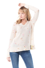 Lisa Todd Sugarland Cream Sweater - Front cropped