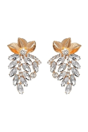 Madison Avenue Accessories Lise Stud Earring - Front cropped