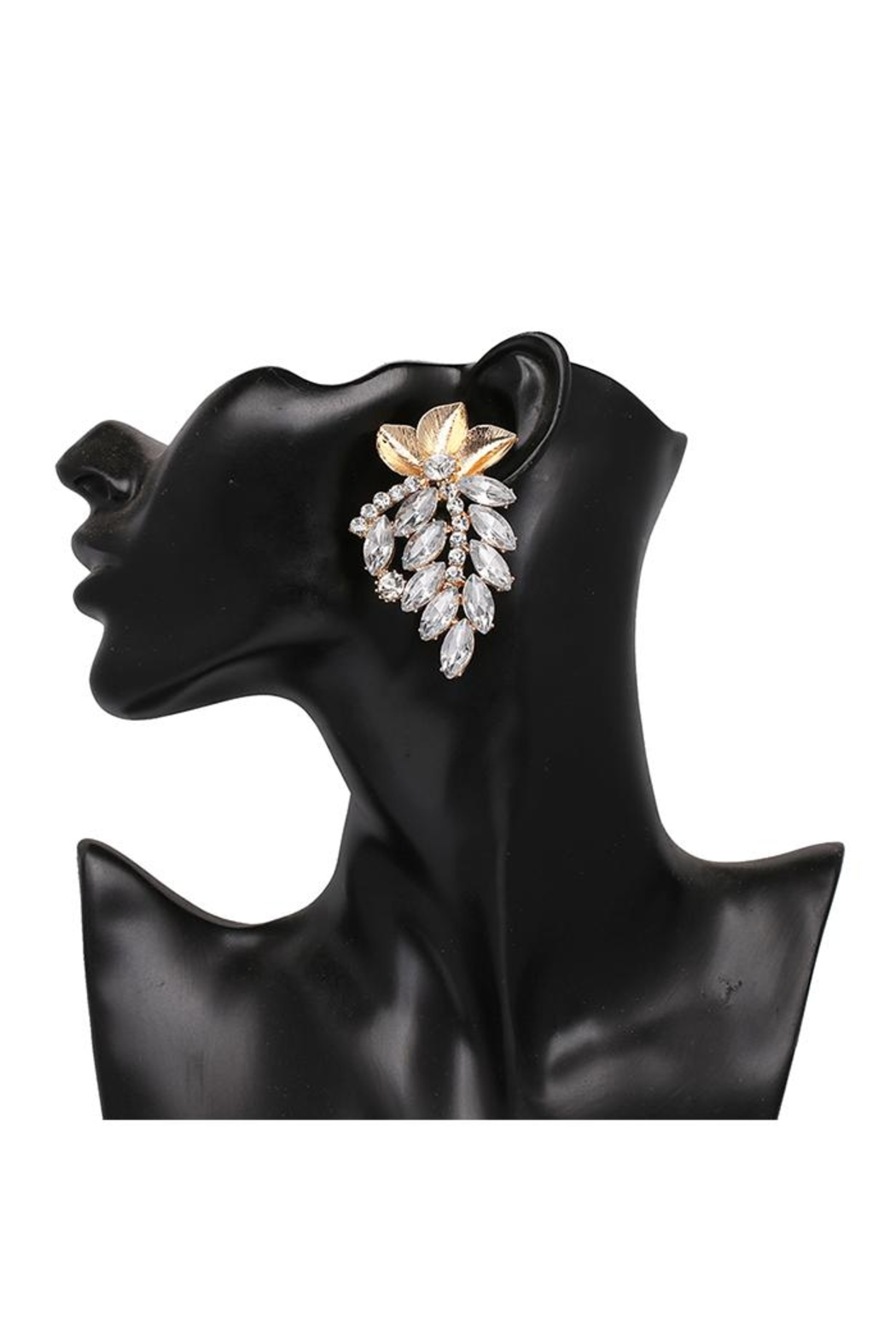 Madison Avenue Accessories Lise Stud Earring - Front Full Image