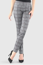 lisette L Carmen Plaid Print Pants - Product Mini Image