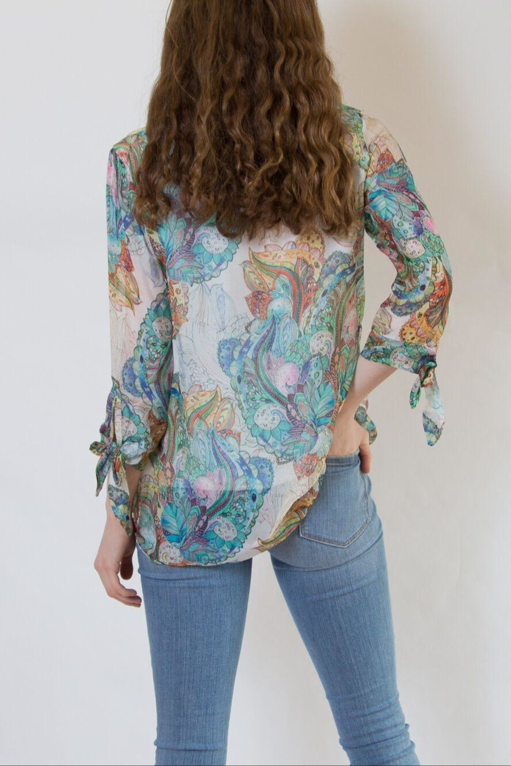 lisette L Paisley Blouse - Side Cropped Image