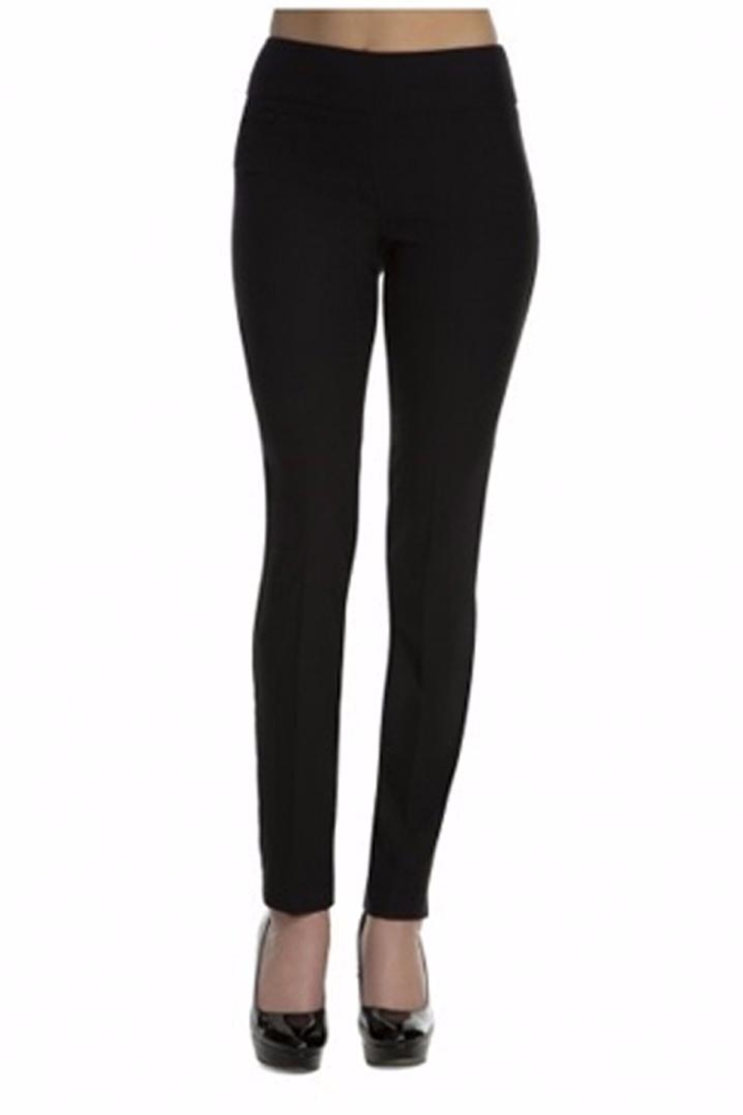 lisette L Solid Woven Pants - Front Cropped Image