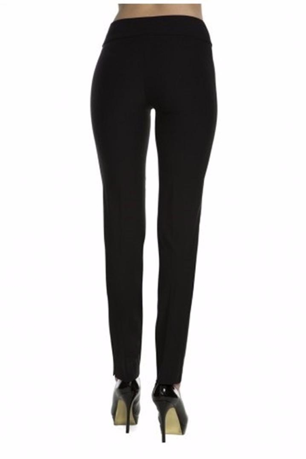 lisette L Solid Woven Pants - Side Cropped Image