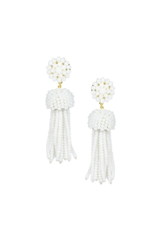 Lisi Lerch Beaded Tassel Earrings - Alternate List Image