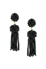 Lisi Lerch Black Tassel Earrings - Product Mini Image