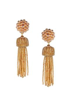 Lisi Lerch Champagne Tassel Earrings - Alternate List Image