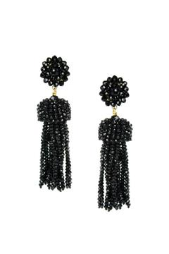 Lisi Lerch Crystal Tassel Earrings - Alternate List Image