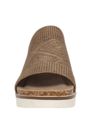 Pierre Dumas Lisle-6 Flatform Wedge - Side cropped