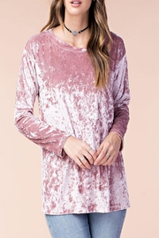 Listicle Alana Top Rose - Front cropped