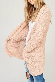 Listicle Blush Knit Cardigan - Other