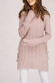 Listicle Cabled Sweater Top - Product Mini Image