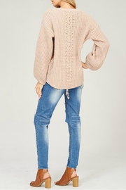 Listicle Chenille Knit Sweater - Other