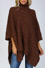 Shoptiques Product: Chunky Knit Poncho