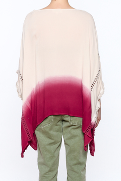 Listicle Dip Dyed Poncho - Alternate List Image