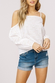 Listicle Embroidery Top - Product Mini Image