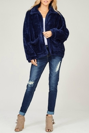 Listicle Faux Fur Jacket - Product Mini Image