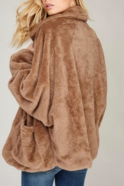 Listicle Faux Fur Jacket - Side cropped