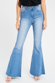 Listicle Flare Jeans - Product Mini Image