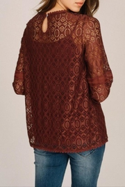 Listicle Floral Lace Top - Other