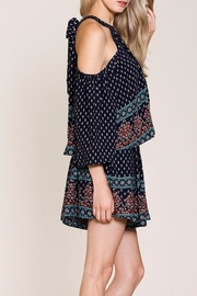 Listicle Floral Romper - Front full body