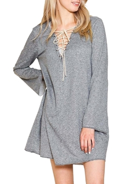 Listicle French Terry Dress - Product List Image